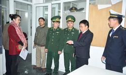 Kiểm tra công tác phòng chống dịch tại Nậm Cắn