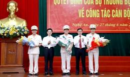 Nghệ An - Hà Tĩnh có giám đốc công an mới