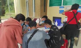 Cách ly gần 1.000 sinh viên Lào qua cửa khẩu quốc tế Nậm Cắn