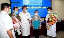 Bệnh nhân ghép tim xuyên Việt ở Bệnh viện Trung ương Huế được ra viện
