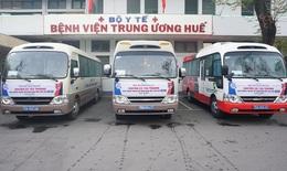 Chuyến xe yêu thương dành tặng bệnh nhân về Tết