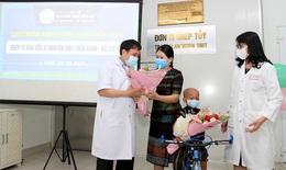 Bệnh nhân thứ 8 ghép tế bào gốc của Bệnh viện Trung ương Huế được ra viện