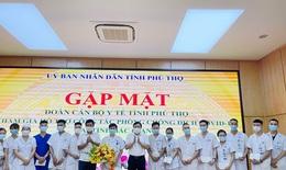 Phú Thọ tăng cường thầy thuốc đến Bắc Giang