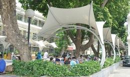 Bệnh viện Bạch Mai triển khai nhiều biện pháp chống nóng cho người bệnh và người nhà