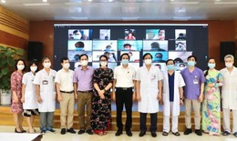 BV Bạch Mai chuyển giao 10 gói kỹ thuật cho hơn 100 bác sĩ, điều dưỡng thuộc Đề án 1816