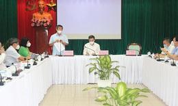 """GS.TS Trần Văn Thuấn, Thứ trưởng Bộ Y tế : Đồng Nai phải bảo vệ bằng được """"vùng xanh"""", khoanh chặt """"vùng đỏ"""""""