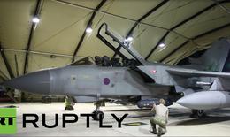 Phi cơ Tornado tới Syria chuẩn bị không kích ISIS