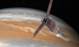 Vệ tinh do thám Juno bay vào quỹ đạo sao Mộc