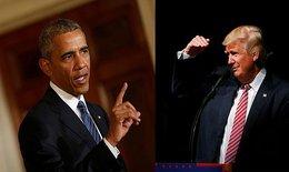 """Obama: """"Donald Trump không phù hợp để trở thành Tổng thống"""""""