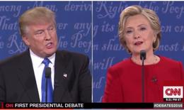 Hơn 80 triệu người Mỹ theo dõi vòng đối đầu Hillary - Donald Trump