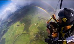Nhảy dù vào cầu vồng 360 độ