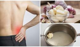 Sữa tỏi - phương thuốc tuyệt vời giúp giảm đau dây thần kinh hông