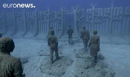 Bảo tàng dưới nước đầu tiên ở châu Âu