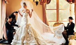 Váy cưới lấy cảm hứng từ Đệ nhất phu nhân Melania Trump