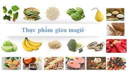 Thực phẩm bình ổn nhịp tim & tốt cho sức khỏe tim mạch