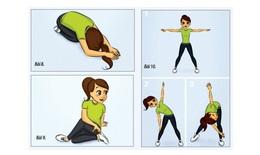 10 bài tập thể dục buổi sáng cho cả ngày đầy năng lượng (P2)