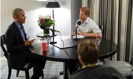 Hoàng tử Harry phỏng vấn cựu Tổng thống Obama