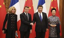 Tổng thống Pháp thăm chính thức Trung Quốc