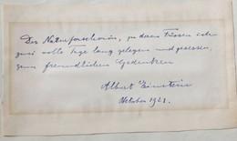 Đấu giá lời nhắn của Albert Einstein dành cho nhà nữ khoa học trẻ