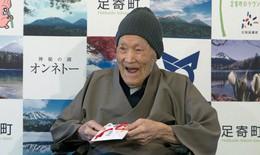 Cụ ông Nhật Bản 112 tuổi giành kỷ lục sống lâu nhất thế giới