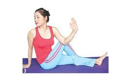 Bài tập giải tỏa căng thẳng - tư thế vai, cột sống, lưng