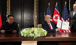 Mỹ-Triều ký văn kiện lịch sử phi hạt nhân hóa bán đảo Triều Tiên