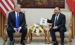 Tổng thống Trump đăng clip chuyến thăm chính thức Việt Nam lên Twitter