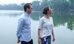 Chùm ảnh hạnh phúc của cặp đôi công chúa Thụy Điển Victoria ở Việt Nam đốn tim người xem