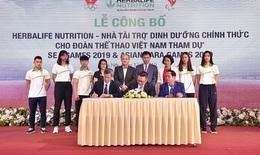 Herbalife tài trợ cho vận động viên Việt Nam tham dự SEA Games 2019 và ASEAN Para Games 2020