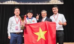 32/32 học sinh Việt Nam đoạt giải cao Toán Quốc tế ở Nhật, trong đó có 3 giải Kim Cương