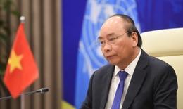 Thủ tướng Nguyễn Xuân Phúc phát biểu tại phiên họp cấp cao Hội đồng Bảo an LHQ trực tuyến