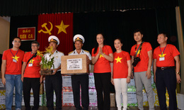 Công đoàn Y tế Việt Nam thăm đảo Sơn Ca