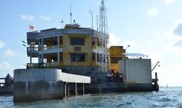 Đoàn công tác số 5 năm 2019 thăm cán bộ và chiến sĩ đảo Tóc Tan B