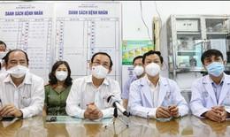 Bí thư Thành ủy TP.HCM gởi gắm niềm tin và hy vọng đến đội ngũ y bác sĩ BV Chợ Rẫy