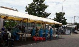 Khẩn trương lấy 500 mẫu xét nghiệm SARS-CoV-2 tại chợ đầu mối Nông sản Thực phẩm huyện Hóc Môn