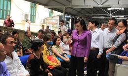 Bộ trưởng Bộ Y tế kiểm tra đột xuất 2 bệnh viện TW: Quyết tâm đổi mới hơn nữa vì người bệnh