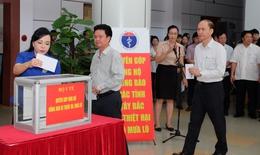 Bộ Y tế chăm lo sức khỏe người dân vùng bị lũ lụt