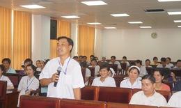 Tăng cường đào tạo an toàn người bệnh cho điều dưỡng, kỹ thuật viên
