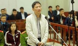 Tạm dừng phiên tòa xét xử Trịnh Xuân Thanh trong 4 ngày