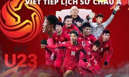Giải bóng đá vô địch U23 châu Á tự hào hai tiếng Việt Nam