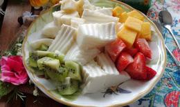 Sữa chua dẻo và biến tấu cho dịu nhiệt