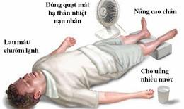 Sơ cứu say nắng, say nóng