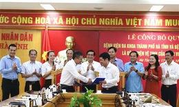 Hợp tác toàn diện giữa BVĐK tỉnh Hà Tĩnh với BVĐH Y Hà Nội