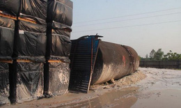 Thông tin mới vụ đổ dầu thải vào nguồn nước sông Đà: Phi vụ mua bán dầu thải của con gái Chủ tịch gốm sứ Thanh Hà
