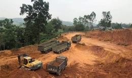 """Lại """"nóng"""" khai thác đất trái phép trên địa bàn Phú Thọ"""