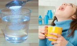 Những sai lầm khi súc miệng bằng nước muối sinh lý