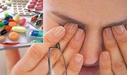 Các thuốc có thể gây khô mắt