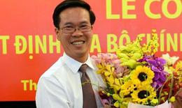 Công bố ông Võ Văn Thưởng giữ chức Trưởng ban Tuyên giáo Trung ương