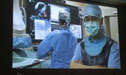 SK&ĐS độc quyền truyền hình trực tuyến các ca can thiệp tim mạch khó từ  Bệnh viện Đại học Y Hà Nội tới Hồng Kông
