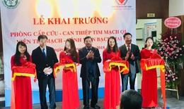 Khai trương Phòng cấp cứu  - can thiệp tim mạch Q1, Viện Tim mạch, BV Bạch Mai